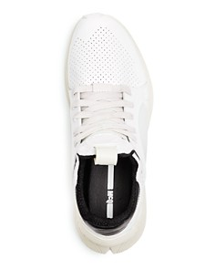 McQ Alexander McQueen - Men's Gishiki Leather Techsole Lace Up Sneakers