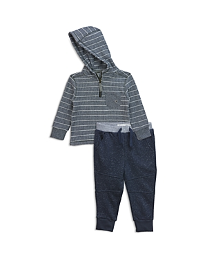 Sovereign Code Boys Striped Hoodie  Jogger Pants Set  Baby