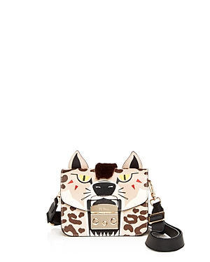 Furla Metropolis Jungle Leather Crossbody
