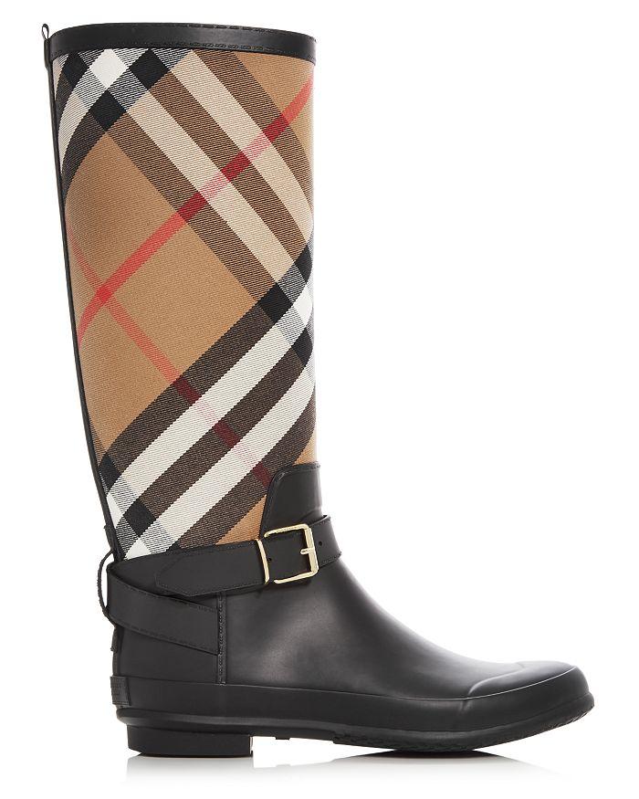 4638fec19e7 Women's Simeon Signature Check Rain Boots