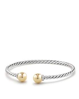 David Yurman - Solari Bracelet with Diamonds and 18K Gold