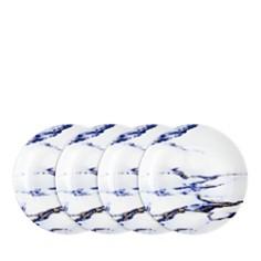 Prouna - Marble Azure Canape Plates, Set of 4