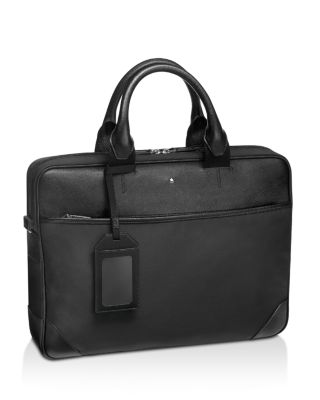 $Montblanc Satorial Jet Document Case Slim Briefcase - Bloomingdale's