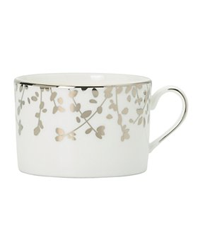 kate spade new york - Gardner Street Platinum Tea Cup