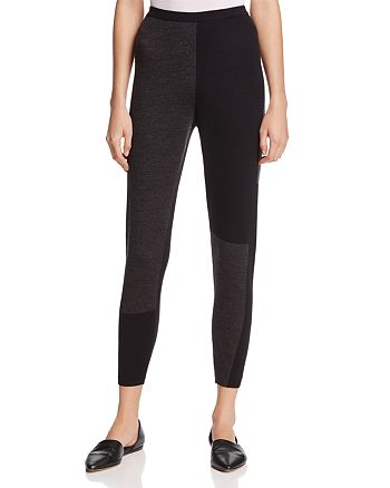 Eileen Fisher Petites - Color-Block Collection Merino Wool Leggings