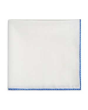 The Men's Store at Bloomingdale's White Bordered Pocket Square - 100% Exclusive