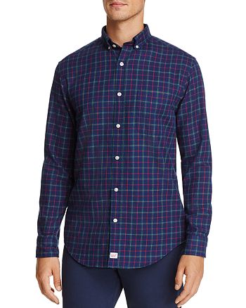 Vineyard Vines - Blue Spruce Plaid Classic Fit Button-Down Shirt