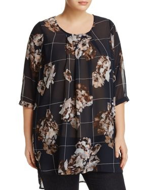 Junarose Chichi Roy Three-Quarter Sleeve Top