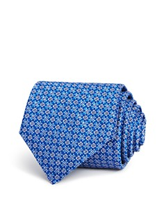 Canali Floral Geometric Classic Tie - 100% Exclusive - Bloomingdale's_0