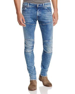 G-star Raw 5620 3D Super Slim Jeans in Light Aged Blue