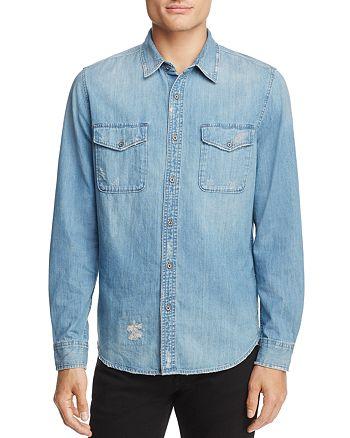 AG - Benning Denim Button-Down Shirt