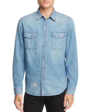 Ag Jeans Benning Denim Button-Down Shirt 2763796
