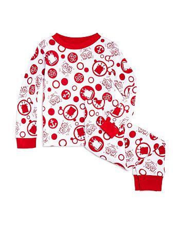 ame x spongebob red unisex spongebob pajama set little kid