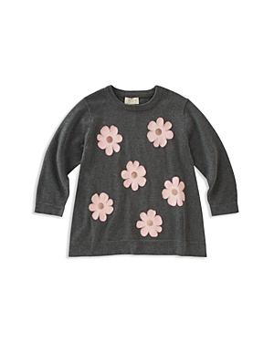 kate spade new york Girls Floral Swing Sweater  Big Kid