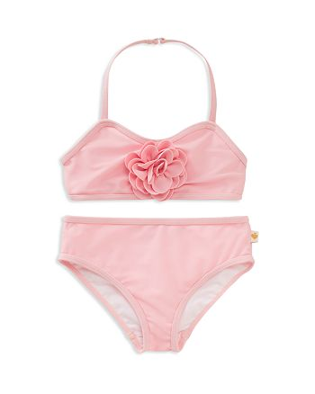 kate spade new york - Girls' Rosette 2-Piece Swimsuit - Little Kid