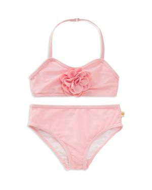 kate spade new york Girls' Rosette 2-Piece Swimsuit - Little Kid