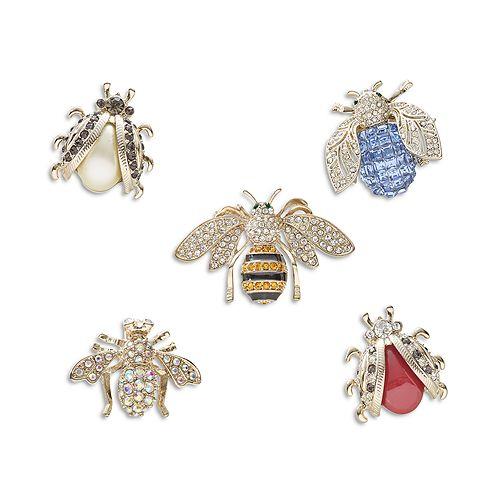 Joanna Buchanan - Mini Bug Decorative Clips, Set of 5
