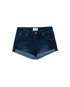 Hudson - Girls' Cuffed Denim Shorts - Big Kid