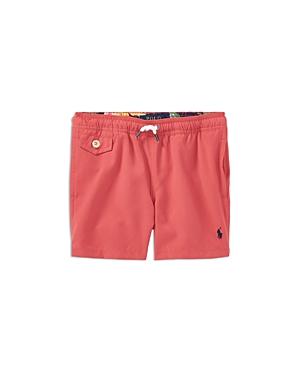 Ralph Lauren Childrenswear Boys Solid Swim Trunks  Little Kid