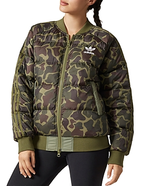 adidas Originals Pharrell Williams Camo Puffer Jacket