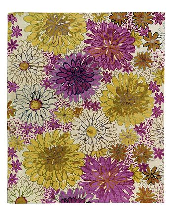 Tufenkian Artisan Carpets - Bouquet Spring Floral Collection Area Rug, 8' x 10'