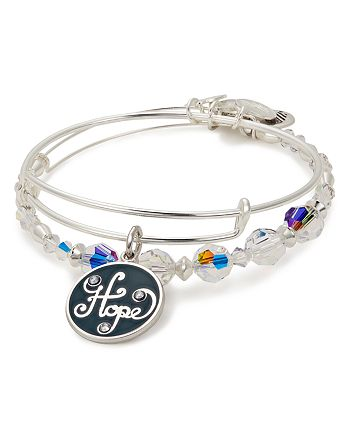 Alex and Ani - Hope Expandable Wire Bangles, Set of 2