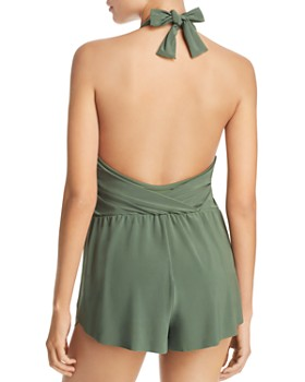 Magicsuit - Solid Bianca Romper One Piece Swimsuit
