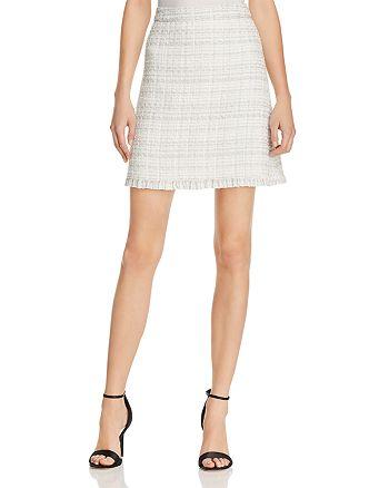 kate spade new york - Metallic Tweed Mini Skirt