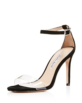 Charles David - Women's Cristal Suede High-Heel Sandals