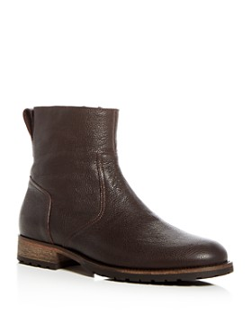 Belstaff - Men's Atwell Pebbled Leather Boots
