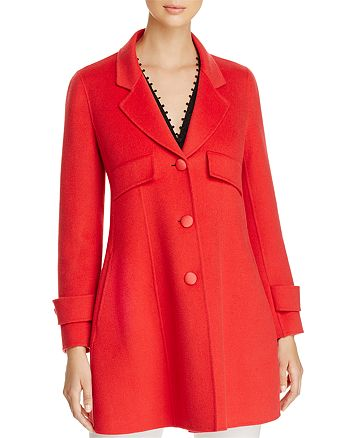 Emporio Armani - Fitted Wool & Cashmere Coat