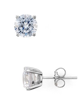 AQUA - Sterling Silver Stud Earrings - 100% Exclusive