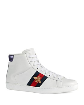 Gucci - Men's Leather High Top Sneakers