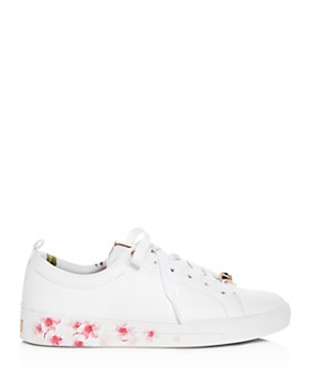 Ted Baker - Women's Kelleip Leather Lace Up Platform Sneakers