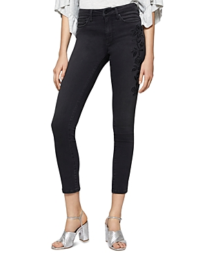 Sanctuary Robbie Embroidered Skinny Jeans in Maribel