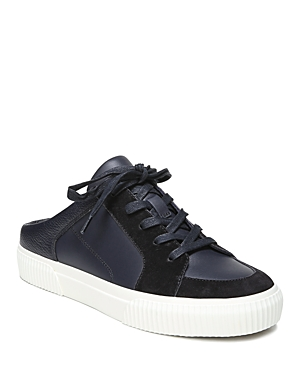 Vince Women's Kess Leather & Suede Backless Slip-On Sneakers