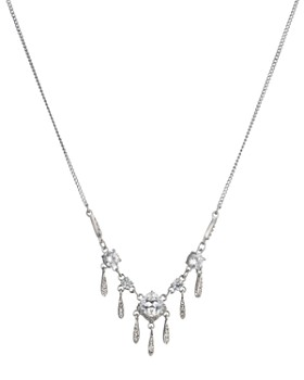 """Carolee - Small Frontal Necklace, 16"""""""