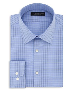The Men's Store at Bloomingdale's Check Regular Fit Dress Shirt - 100% Exclusive thumbnail