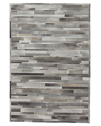 Solo Rugs - Cowhide Area Rug, 4' x 6'