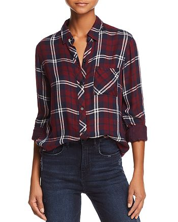 Rails - Gemini Metallic Plaid Shirt