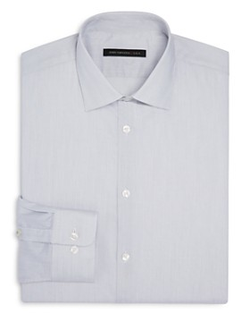 263e810f1a7 John Varvatos Star USA LUXE - Micro Stripe Slim Fit Stretch Dress Shirt ...