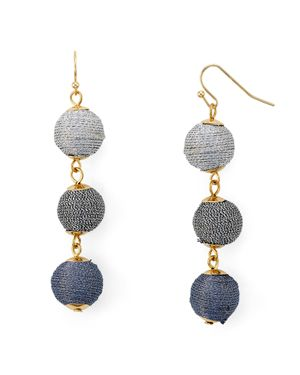 Aqua Ball Drop Earrings - 100% Exclusive