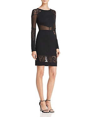 French Connection Tatlin Beau Lace-Detail Dress