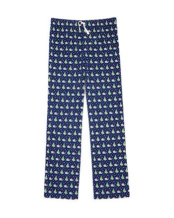 vineyard vines boys santa whale christmas tree pajama pants