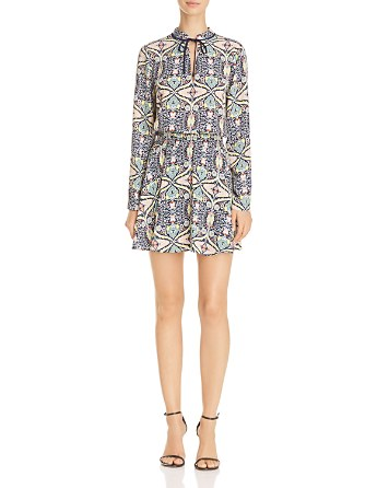 $AQUA Paisley Floral Print Dress - 100% Exclusive - Bloomingdale's