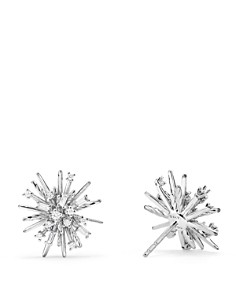 David Yurman - Supernova Stud Earrings with Diamonds in 18K White Gold