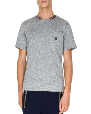 The Kooples Tricolor Collar Tee
