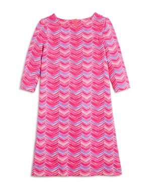 Vineyard Vines Girls' Whale Tail Shift Dress - Little Kid thumbnail