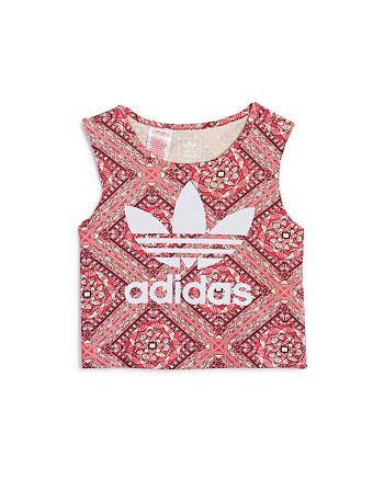 Adidas - Girls' Printed Logo Top - Big Kid