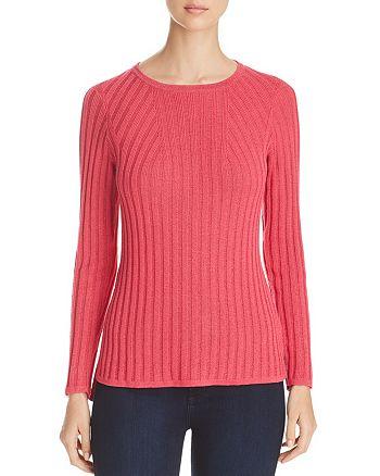 Foxcroft - Mindy Metallic Ribbed Sweater
